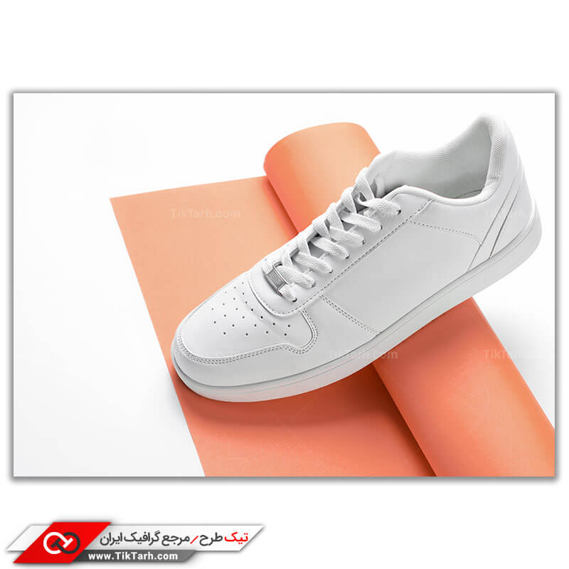 دانلود عکس کفش اسپرت سفید