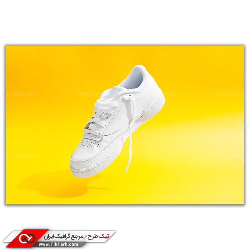 عکس کفش اسپرت سفید