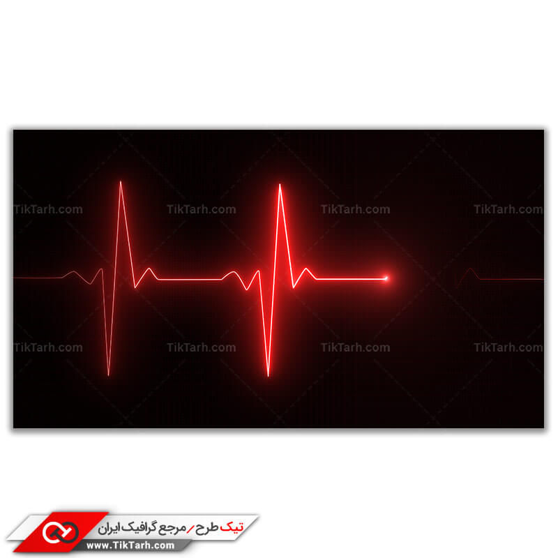 دانلود تصویر باکیفیت نمودار ضربان قلب