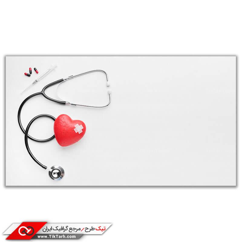دانلود تصویر با کیفیت گوشی پزشکی و سرنگ