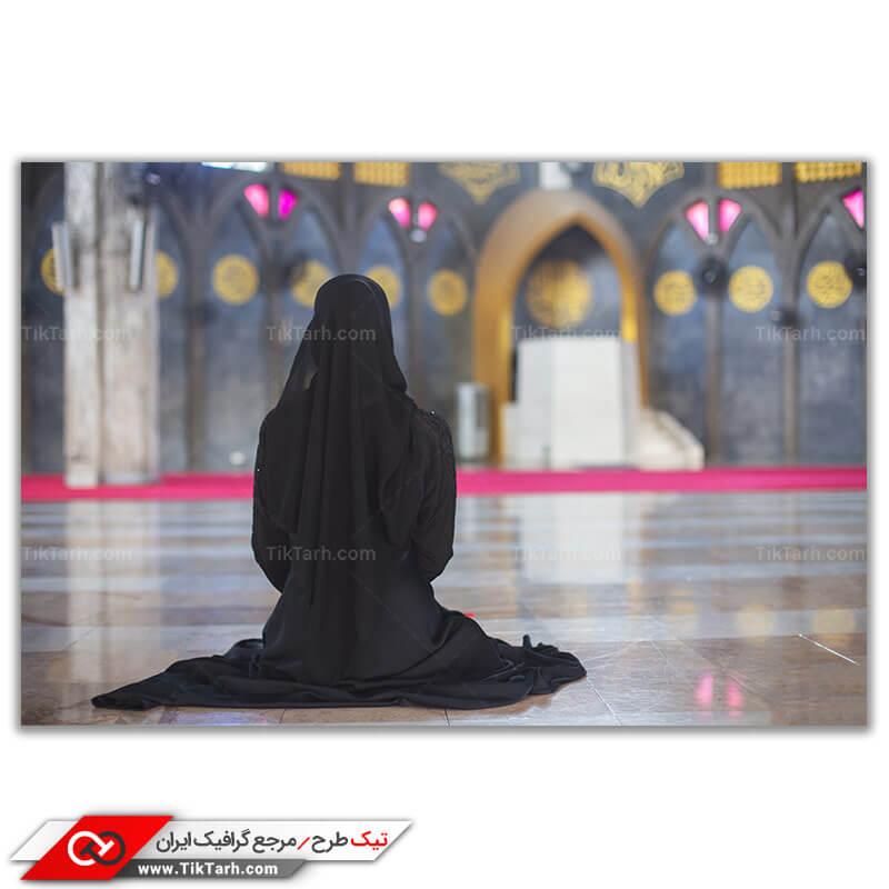 دانلو تصویر با کیفیت نماز در مسجد