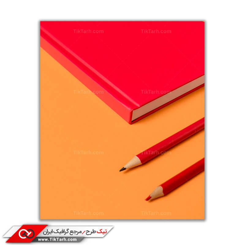 دانلود عکس گرافیکی دفتر و مداد
