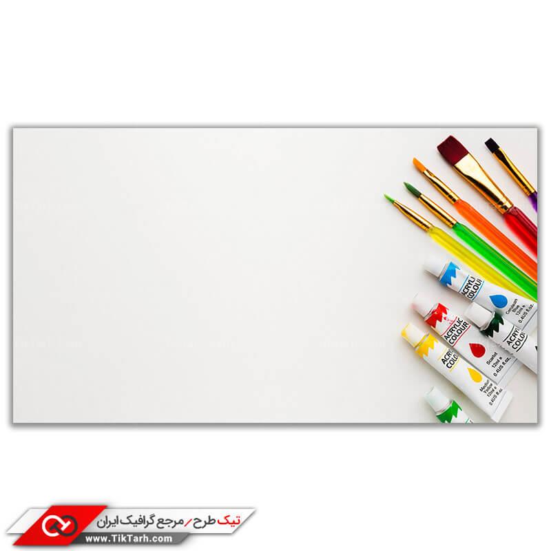 تصویر گرافیکی باکیفیت رنگ روغن نقاشی