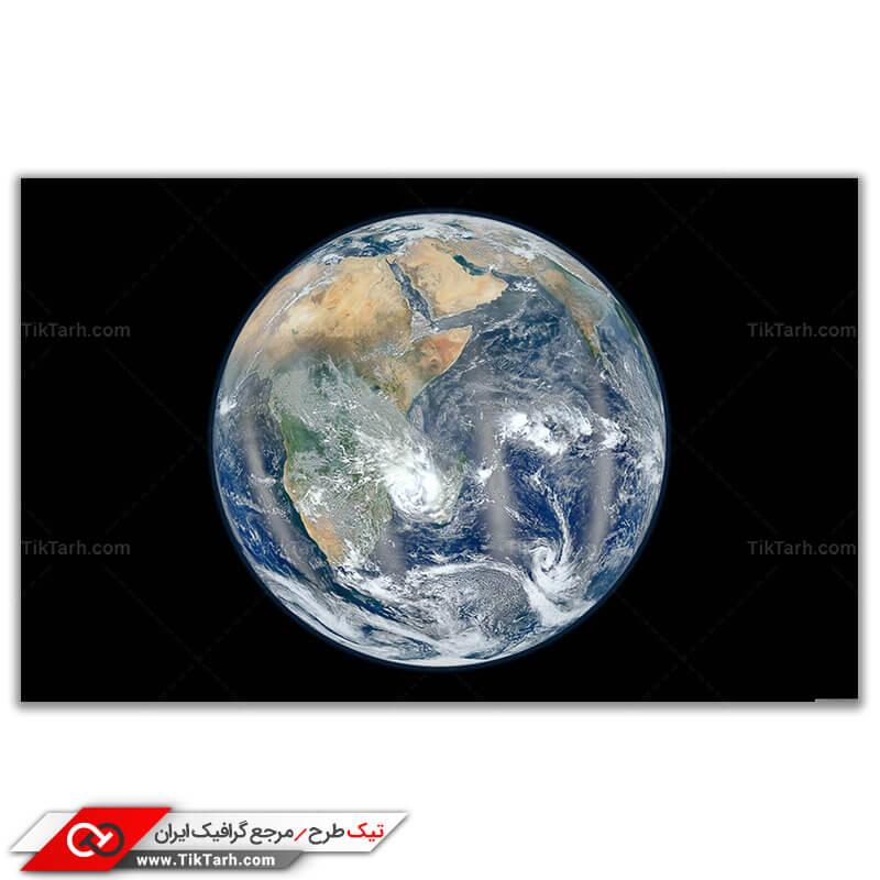 دانلود تصویر گرافیکی باکیفیت کره زمین