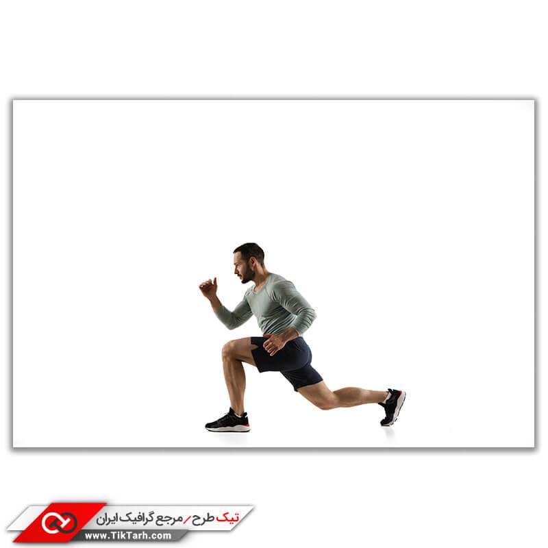 عکس باکیفیت ورزشکاردر حال تمرین