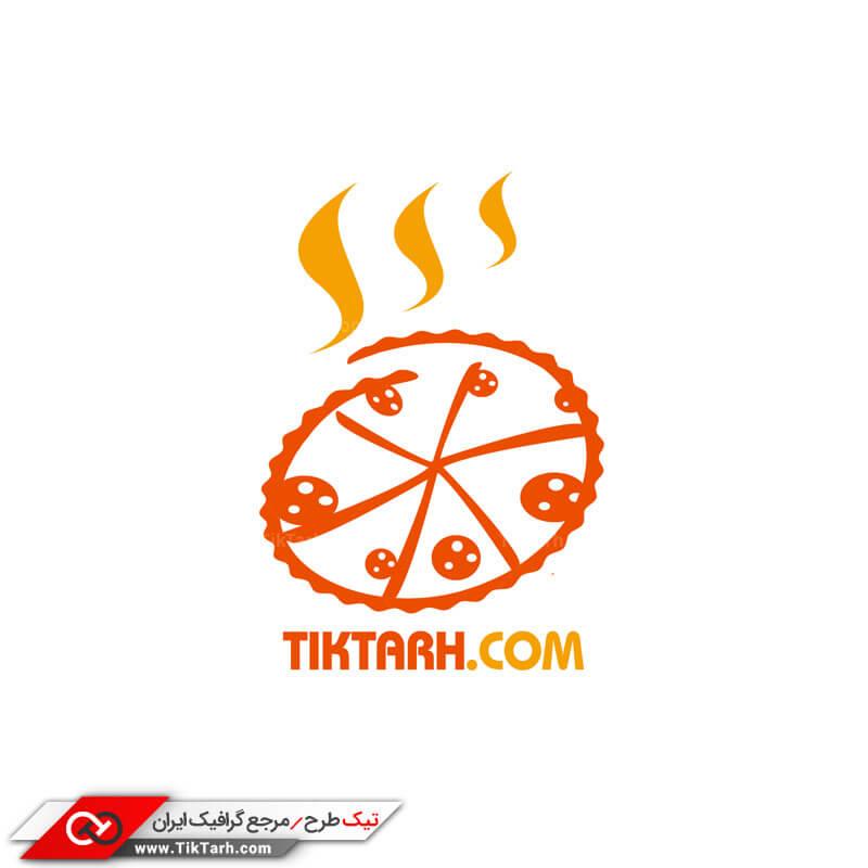 لوگو پیتزا فروشی