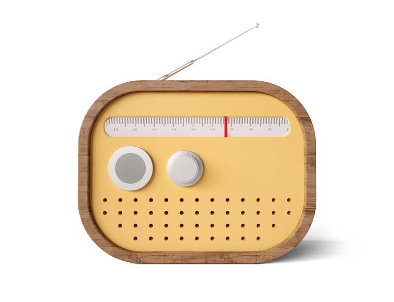 طرح کلیپ آرت باکیفیت رادیو