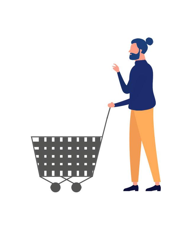 دانلود وکتور مفهومی با طرح خرید از فروشگاه