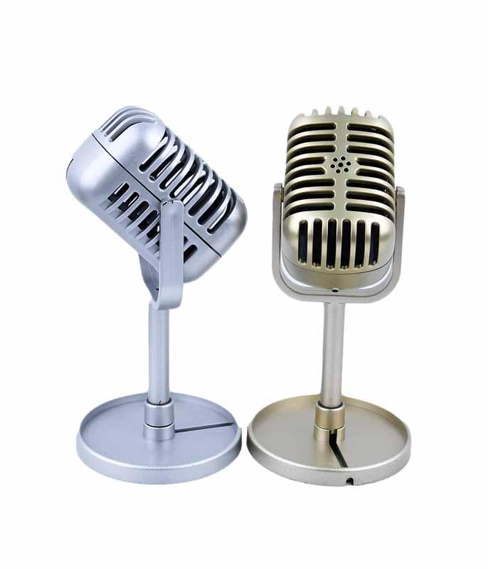 طرح میکروفون های حرفه ای فلزی