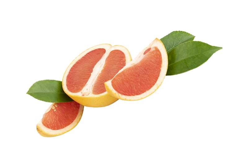 طرح باکیفیت پرتقال خونی برش خورده