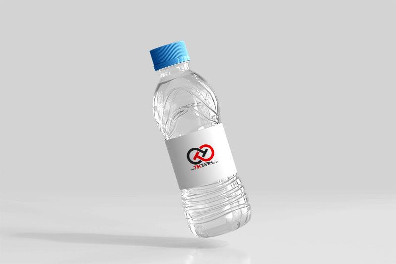 موکاپ آب معدنی
