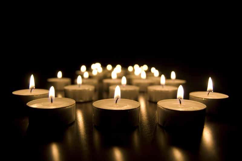 تصویر باکیفیت شمع های تزئینی