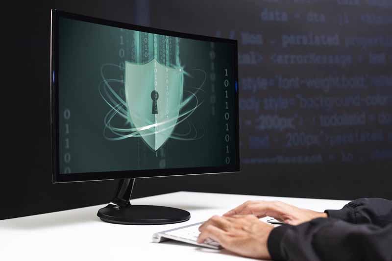 تصویر باکیفیت سپر امنیتی رایانه
