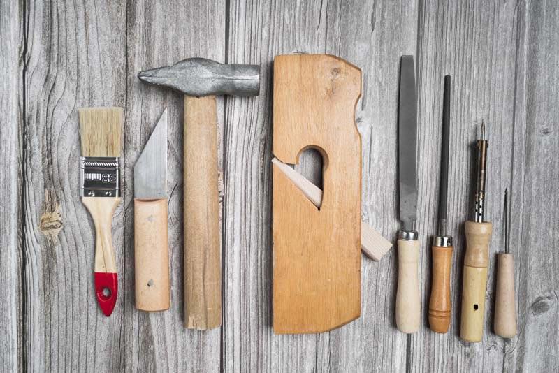 طرح باکیفیت ابزارآلات نجاری
