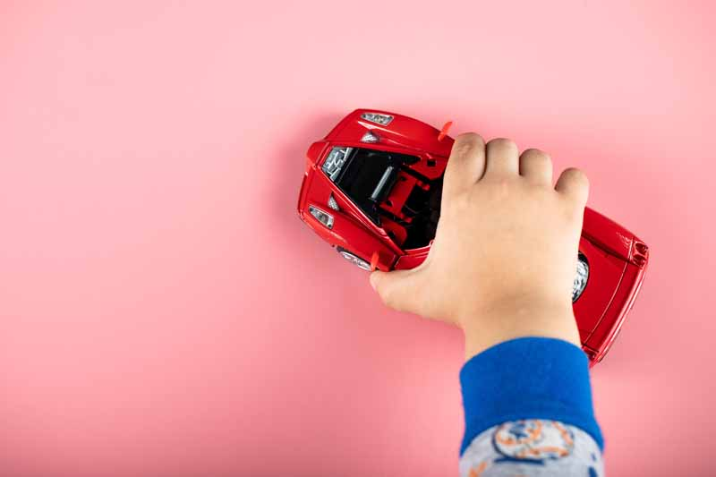 تصویر لارج فرمت ماشین قرمز