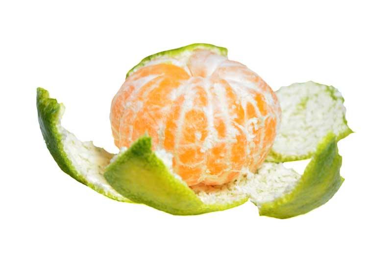 طرح گرافیکی نارنگی پوست کنده