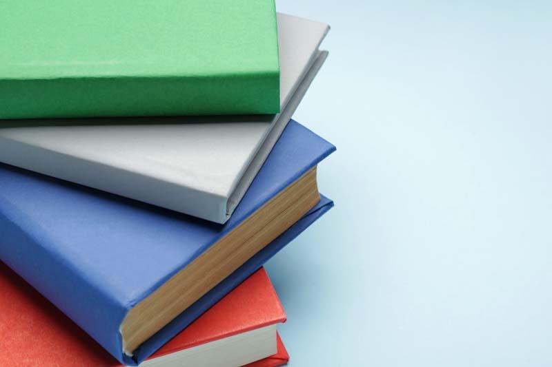 دانلود تصویر باکیفیت از کتاب با جلدهای رنگی