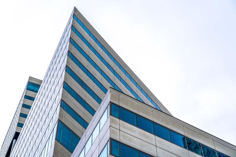 دانلود عکس باکیفیت آپارتمان از نمای پایین