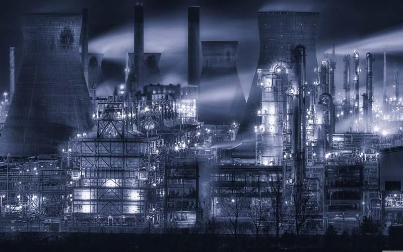عکس باکیفیت نیروگاه