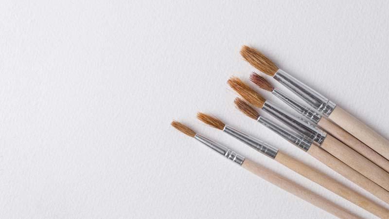 دانلود تصویر باکیفیت براش های آرایشی
