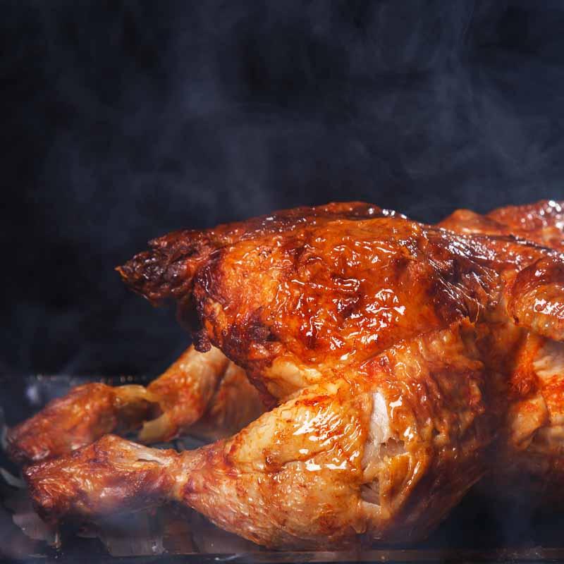 تصویر باکیفیت مرغ سرخ شده