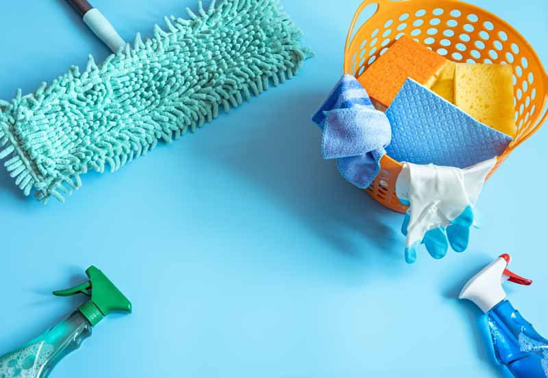 تصویر باکیفیت لوازم نظافت منزل