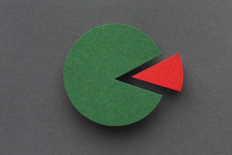 دانلود تصویر باکیفیت نمودار دایره ای