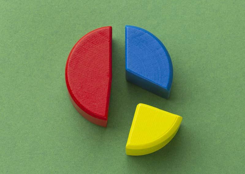 دانلود عکس باکیفیت نمودار دایره ای