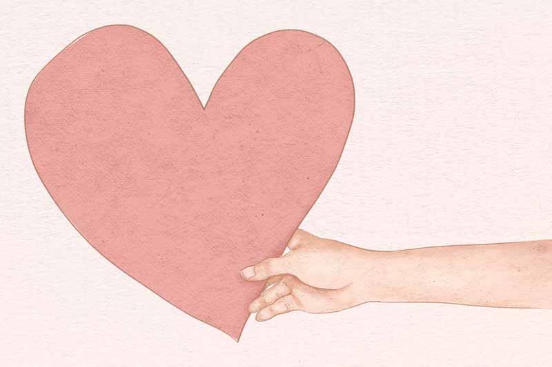 دانلود عکس باکیفیت نقاشی قلب