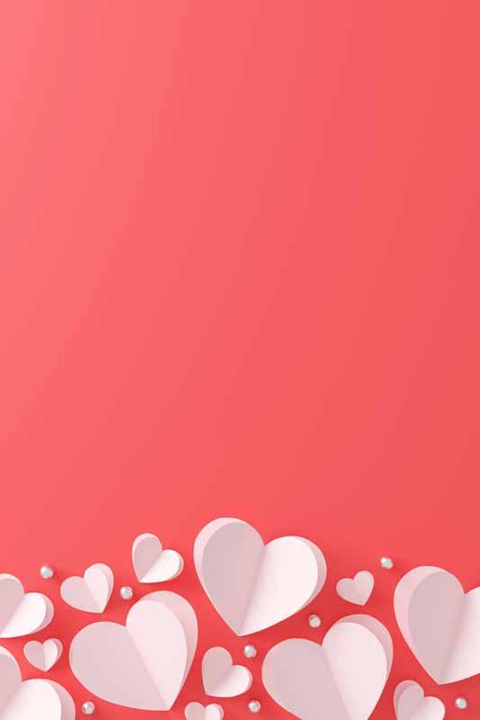دانلود عکس باکیفیت قلب های سه بعدی