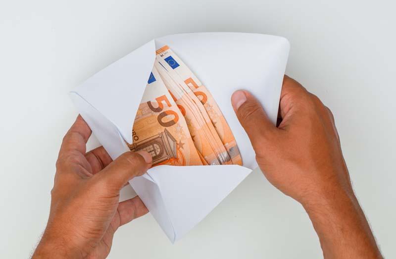 دانلود تصویر باکیفیت پاکت اسکناس یورو