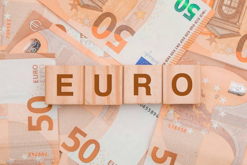 تصویر باکیفیت اسکناس های یورو