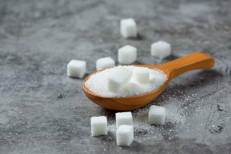 تصویر باکیفیت از شکر و حبه های قند