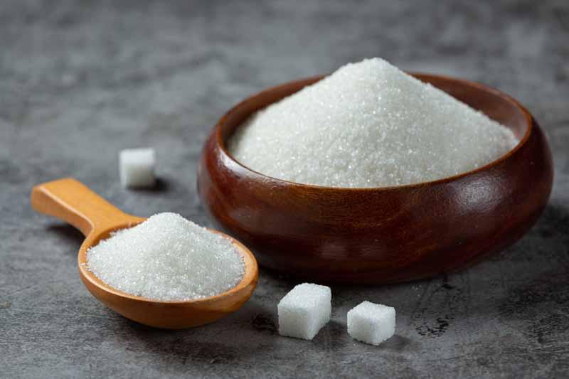 عکس باکیفیت از شکر و حبه های قند