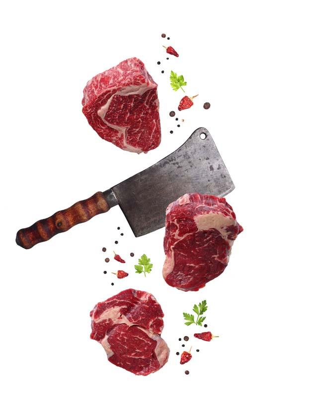 دانلود تصویر با کیفیت از گوشت و ساتور