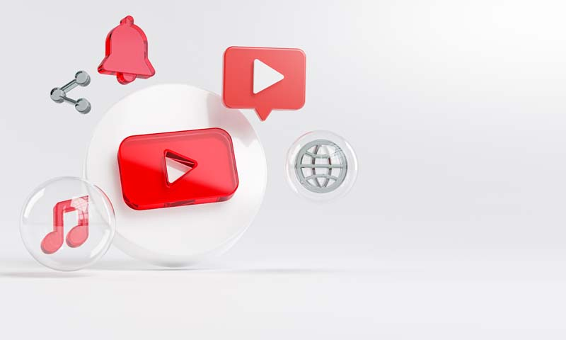 عکس باکیفیت آیکون یوتیوب