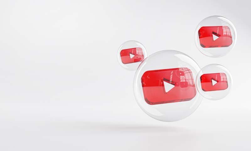 عکس با کیفیت آیکون یوتیوب
