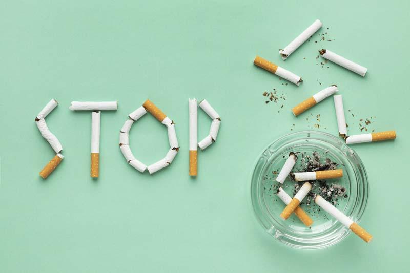 تصویر با کیفیت فانتزی نه به سیگار