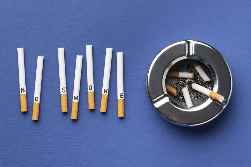 تصویر گرافیکی فانتزی نه به سیگار