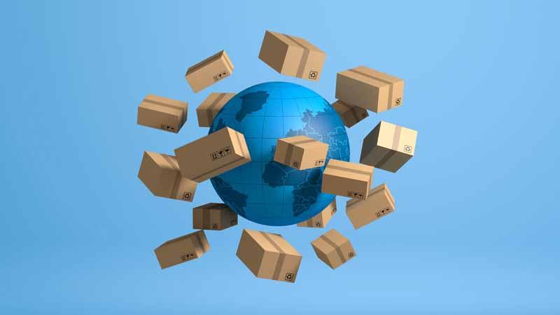 دانلود تصویر باکیفیت بسته های پستی فروشگاه اینترنتی