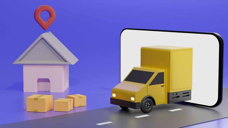 دانلود تصویر باکیفیت فانتزی خرید اینترنتی با موبایل