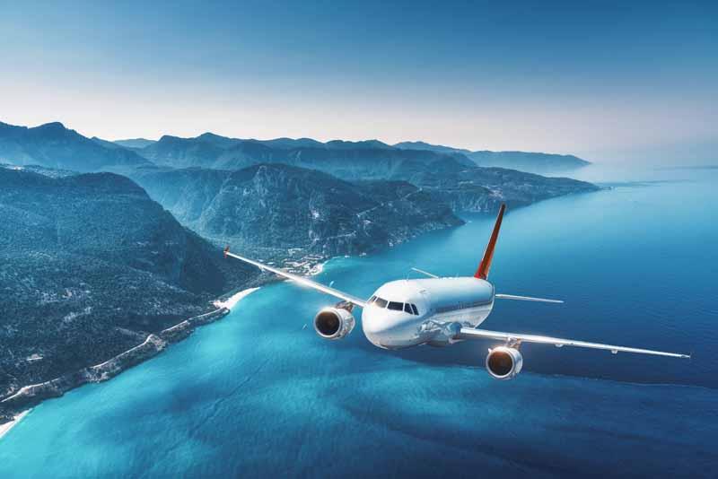 دانلود تصویر باکیفیت هواپیمای مسافربری