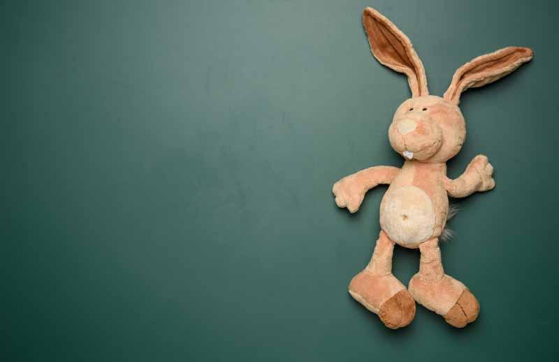 دانلود تصویر باکیفیت از خرگوش عروسکی