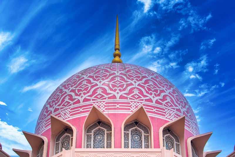 تصویر با کیفیت مسجد پوترا مالزی