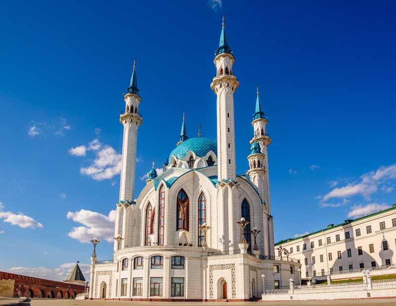 تصویر باکیفیت مسجد قل شریف روسیه