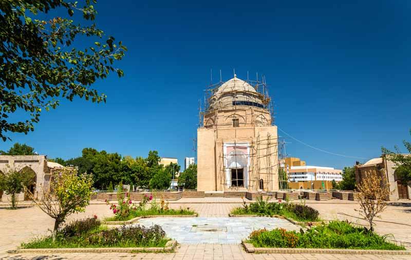 دانلود تصویر باکیفیت مقبره روح آباد سمرقند