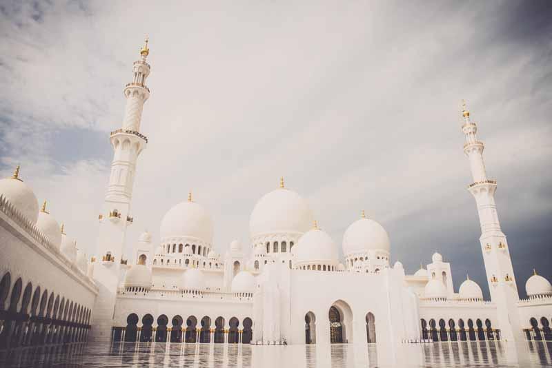 دانلود تصویر با کیفیت مسجد شیخ زاید امارات
