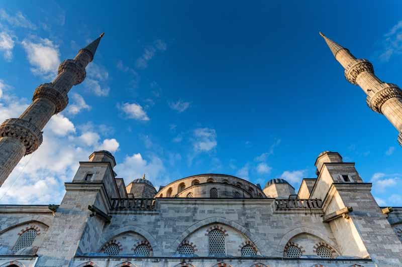 دانلود تصویر گرافیکی مسجد سلطان احمد استانبول