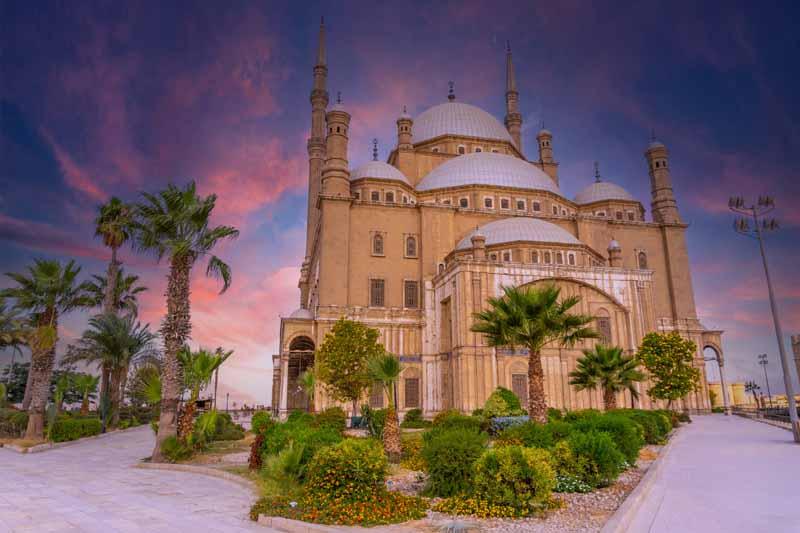 تصویر با کیفیت مسجد آلبستر قاهره