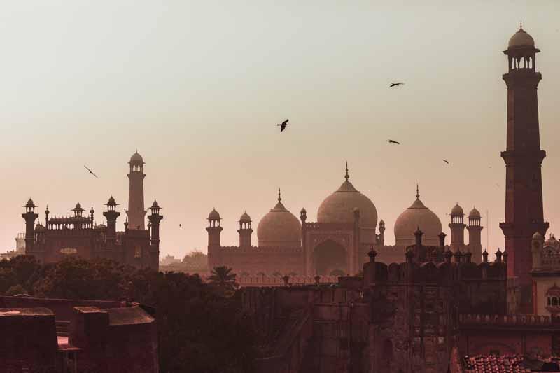 تصویر با کیفیت مسجد پادشاهی پاکستان
